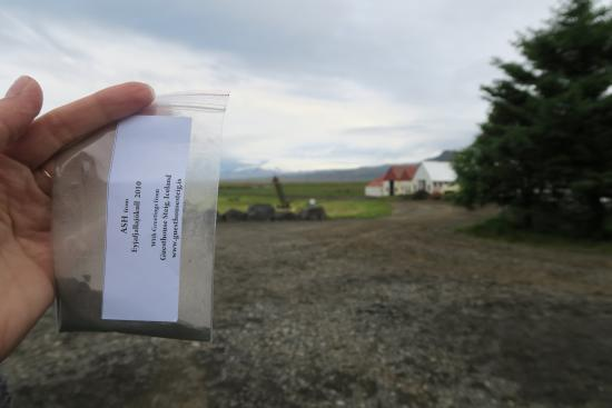 Guesthouse Steig : The ash from the notorious volcano that stopped air traffic in Europe in 2010