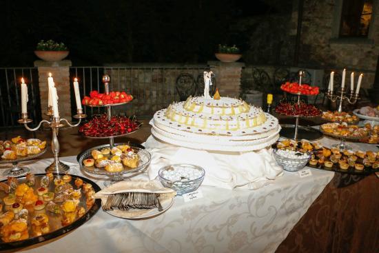 Borgo di Celle: Parte del nostro buffet dolci