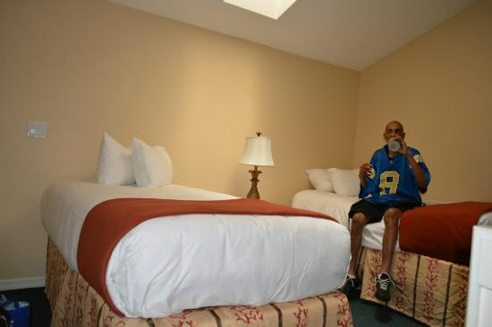 Westgate Town Center Resort & Spa: Loft area beds