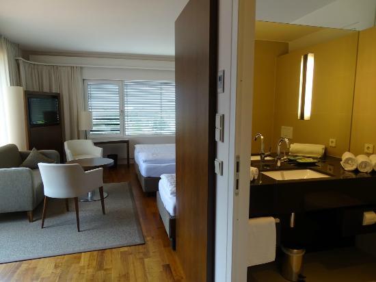 Penz Hotel West: Zimmer