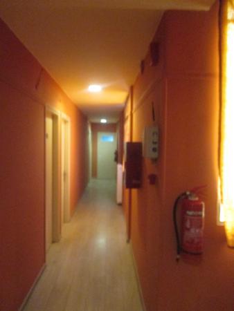 Exarchion Hotel : L'ingresso alle camere