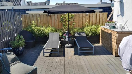 Boogaard's Bed and Breakfast: Roof top terrace