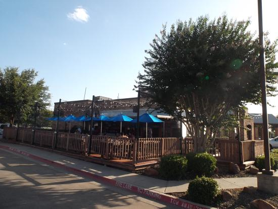 The Patio - Picture of Flips Patio Grill, Grapevine - TripAdvisor