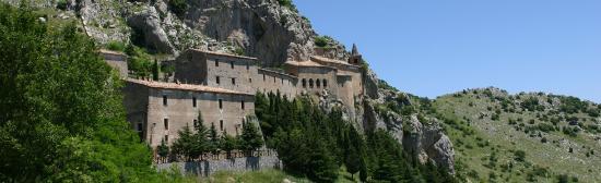 Cerchiara di Calabria, إيطاليا: Il complesso monumentale  del Santuario della Madonna delle Armi