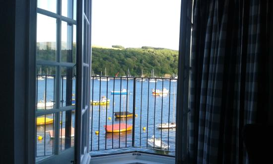 The Old Quay House Hotel : View from room