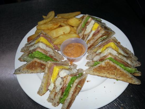 Westshore Beach Inn: Best Ever Club Sandwich