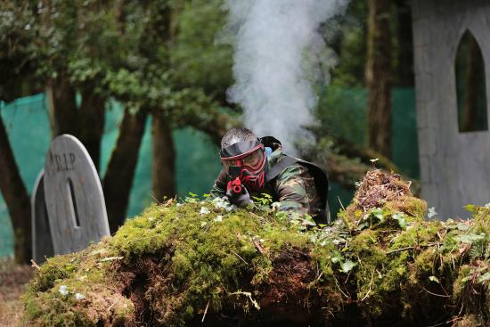 Killarney High Ropes Course : Splatmaster Paintball in Killarney