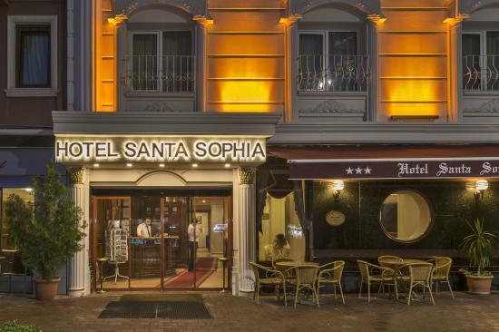 هوتل سانتا صوفيا: Hotel  Dıs Cephe