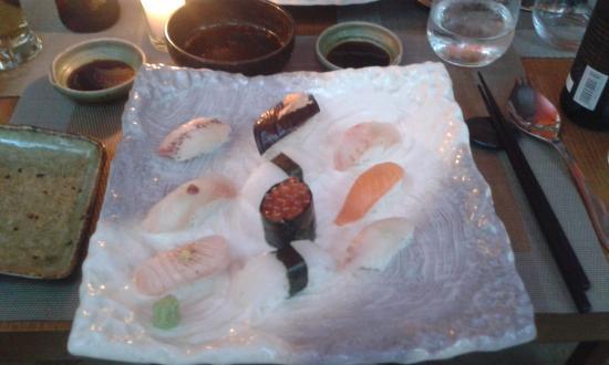 Iloli : Sushi sampler