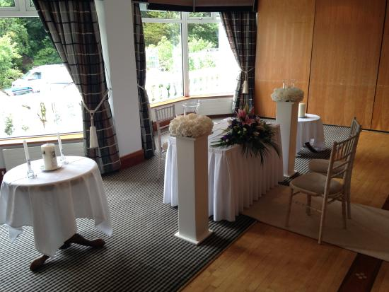 The Central Hotel - Donegal: Hotel Ballroom - Civil Ceremony