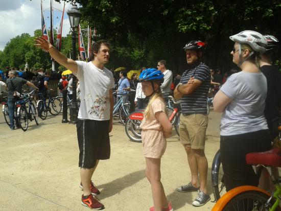 Eldredd, the best biking tour guide ever!