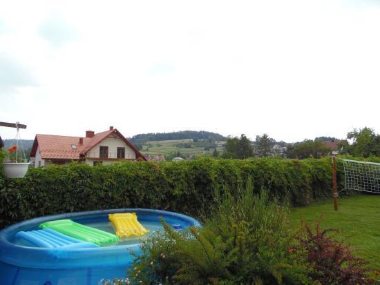 Raba 500: Fantastic view from the garden!