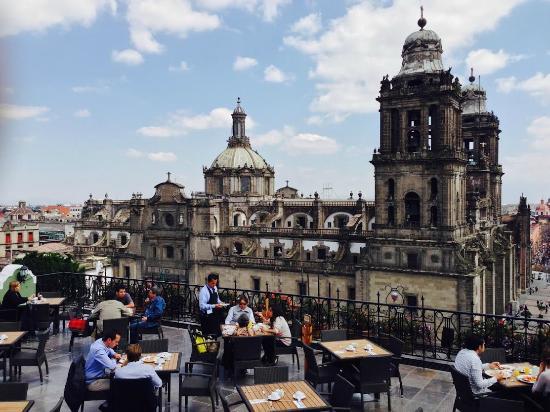 Foto De El Balcón Del Zócalo Ciudad De México Terraza Del