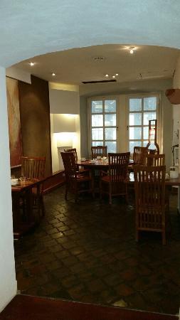 Hotel Monpti: Frühstücksraum