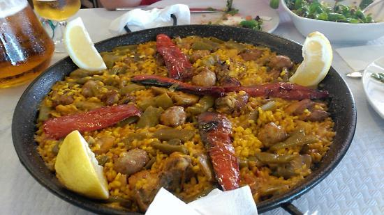 Meson San Rafael : Paella valenciana para dos