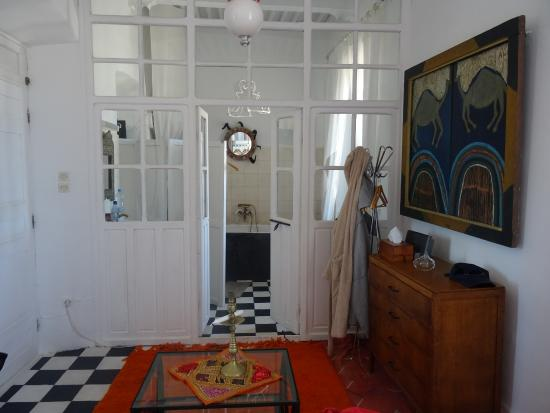La maison des artistes : badkamer 1