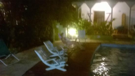 La Créolina à Sainte Rose : Depuis la piscine