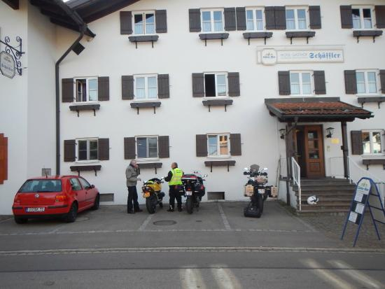 Gasthof Schaeffler: Bike parking