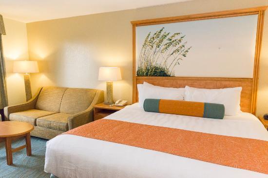 Best Western Plus Siesta Key Gateway: King Guest Room with Sofa Sleeper