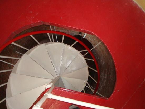 Punta Delgada Lighthouse: Acceso escalera caracol