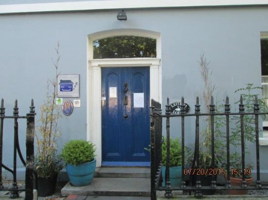 Captain Halpin's Bunkhouse: The front door