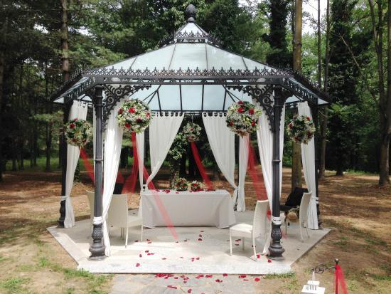 Gazebo Per Matrimonio In Giardino : Gazebo per matrimonio foto di villa ronchi vigevano
