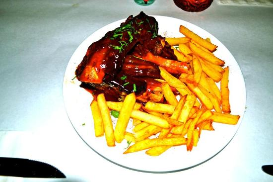 Talia S Steakhouse Bar Kosher Bbq Spare Ribs Uws Restaurants