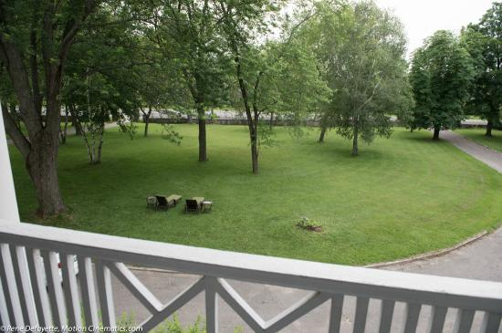 Montrose Inn & Tea Room: From the balcony