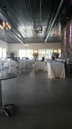 Chisago City, MN: WineHaven Indoor Catering/Reception Area