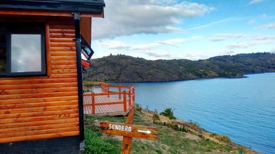 Patagonia Acres Fishing Lodge: Cabana do ofurô