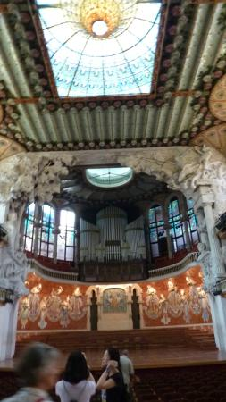 casa da musica em Barcelona - Picture of Palau de la ...