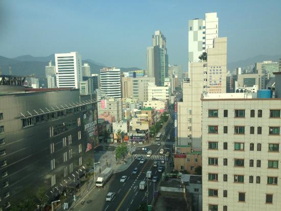 โตโยโกอินน์ปูซาน ซมยอน: 眺望
