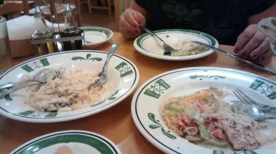 Massas Por Es Bem Servidas Picture Of Olive Garden Mexico City Tripadvisor