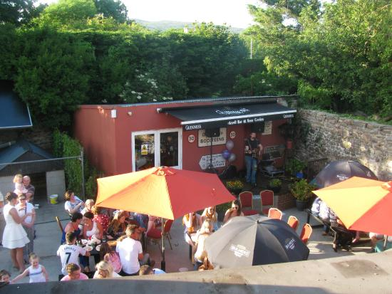 The Anvil Bar: Our Beer Garden