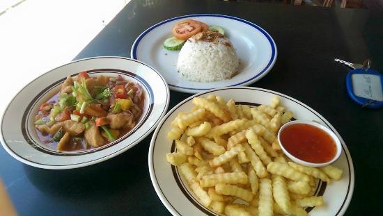 Pulau Lang Tengah, ماليزيا: Set menu lunch - Pretty good!