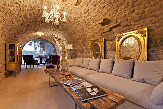 Hotel La Vella Farga: Salón