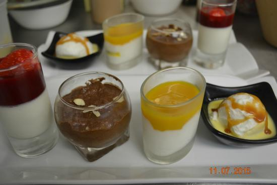 Miniatures pour farandole de desserts