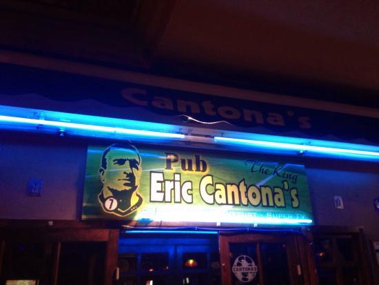 Eric Cantonas Sports Pub