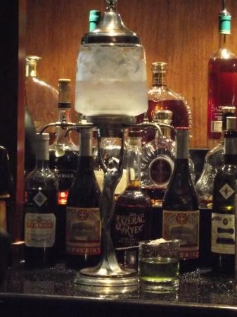 Absinthe drink made the right way! - Picture of The Sazerac Bar, New ...