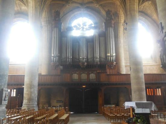 Peronne, France: Orgue