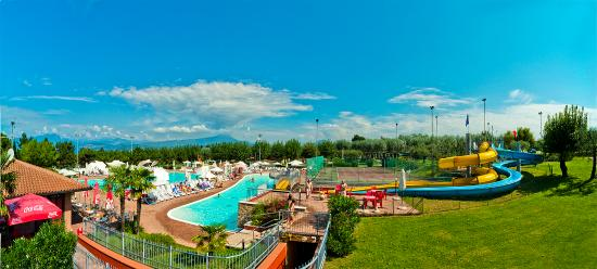 Camping Park delle Rose : panorma piscine