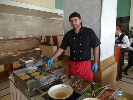 Hotel Mediterranean: cucina pronta