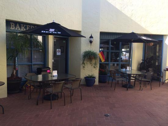 A Taste of Germany: outside seating area