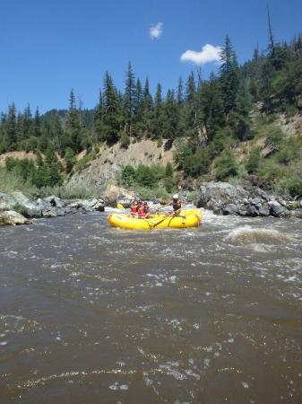 Somes Bar, CA: Rafting on the Klamath