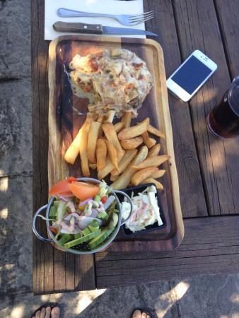 Rusland Pool Restaurant & Bar: £22 steak topper yummy! Worth every penny!