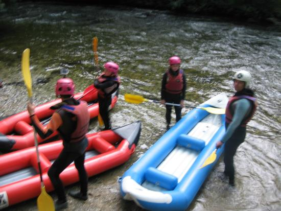 Pyrene Rafting: Getting ready