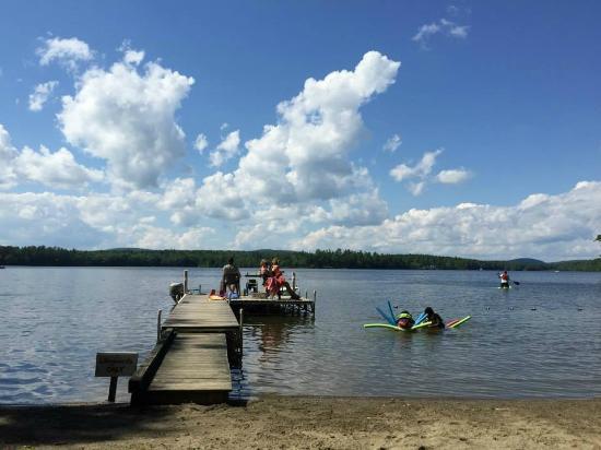 Washington, Μέιν: Another beautiful day on the lake