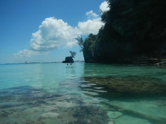 Hamilton, Bermudas: Part of the cove