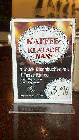 Walderdorffs: Kaffee Klatsch