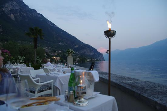 Hotel Villa Giulia: Dinner